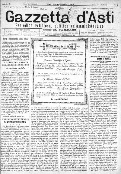 La Gazzetta d'Asti compie 120 anni: la storia del nostro settimanale diocesano