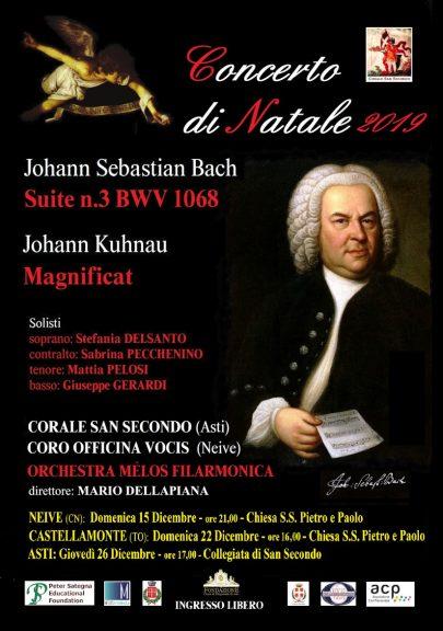 Un Natale in musica con i concerti della Corale San Secondo