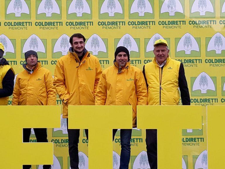 """Coldiretti: 20 mila in piazza, con molti astigiani, perché l'agricoltura """"Made in Piemonte"""" merita, al più presto, un'altra velocità"""