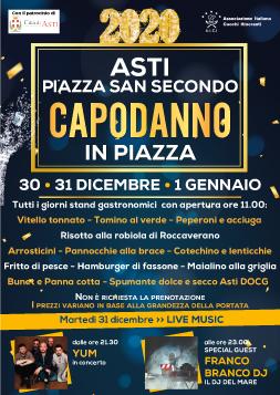 """""""Capodanno in Piazza""""  ad Asti"""