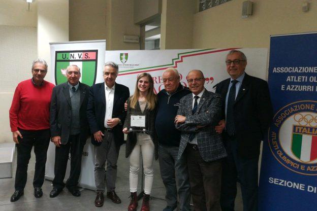 Fiaccola dello Sport, fra i premiati la ciclista Matilde Vitillo