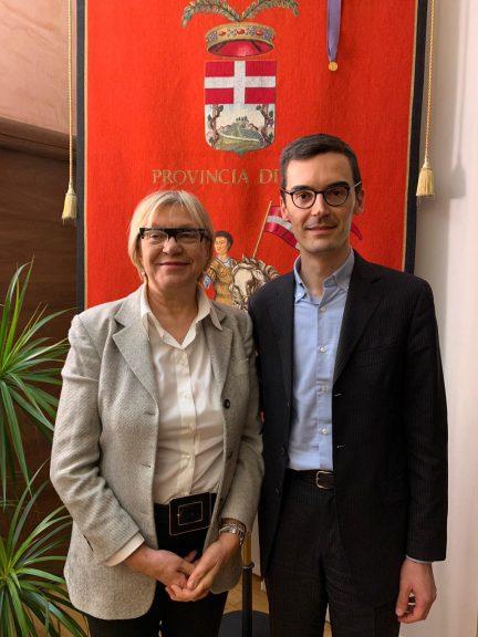 Lanfranco incontra il nuovo direttivo della Croce Verde