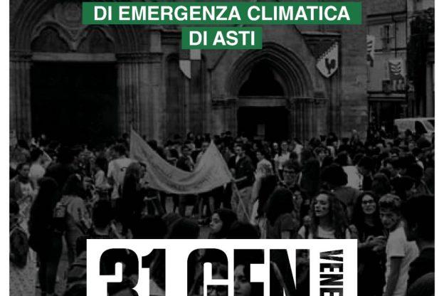 Asti, oggi in piazza San Secondo presidio di Fridays For Future