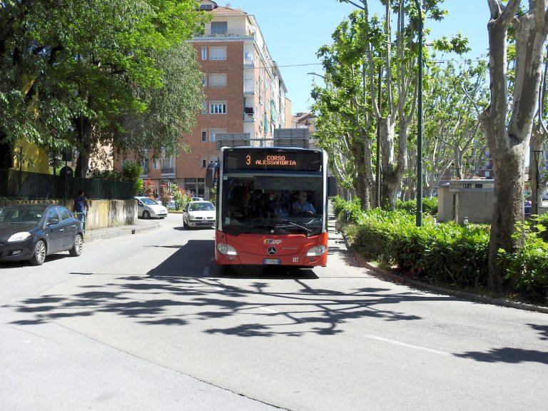 Sono ripresi i lavori di corso XXV Aprile e cambiano percorso i bus della linea 3 e delle linee frazionali di Asp