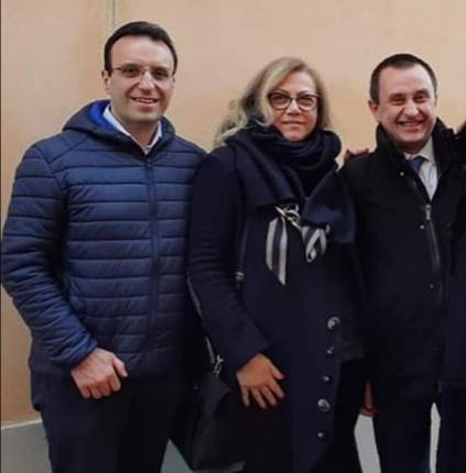 Angela Motta e Luigi Gallareto coordinatori di Italia Viva per la provincia di Asti