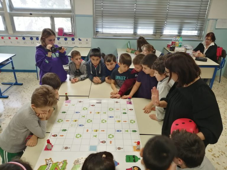 In classe con la Provincia di Asti sul riciclo dei rifiuti