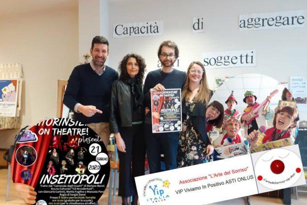 """Al teatro della Torretta in scena """"Insettopoli"""""""