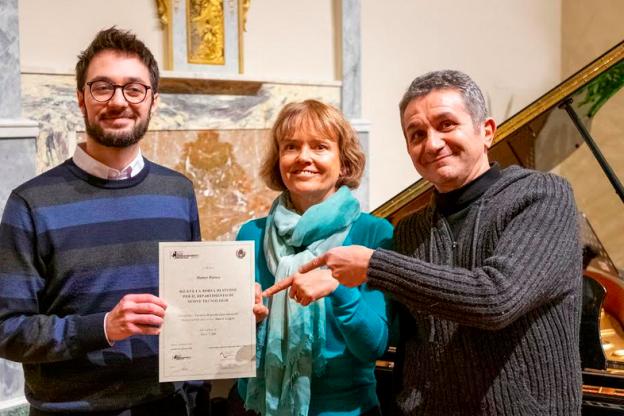 All'astigiano Matteo Bianco la borsa di studio in Tecnico di Produzione Musicale presso l'APM di Saluzzo