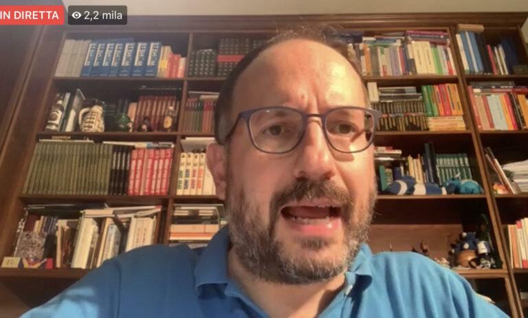 Coronavirus, il punto stampa quotidiano del sindaco di Asti Maurizio Rasero