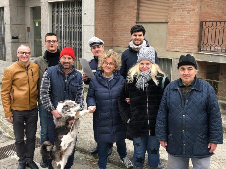 Moncalvo, rientrano a casa due famiglie evacuate dopo il crollo del muro