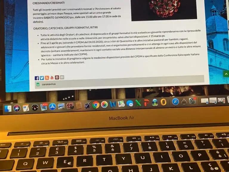 Coronavirus, il vademecum della Pastorale Giovanile di Piemonte e Valle d'Aosta