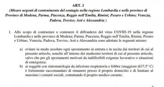 Coronavirus: anche la provincia di Asti in zona rossa?