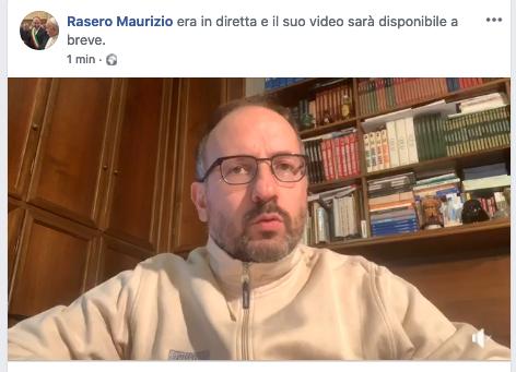 """Coronavirus, il punto su Fb del sindaco Rasero: """"Ci vuole senso civico e bisogna restare a casa"""""""