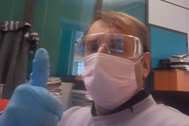 Coronavirus: da Bergamo l'audio con il racconto dell'astigiano Maurizio Ferrari