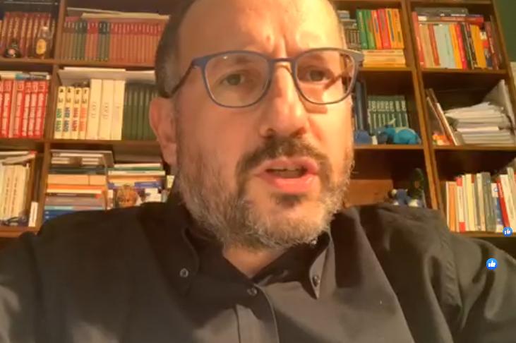 Coronavirus, il punto stampa del sindaco di Asti Maurizio Rasero