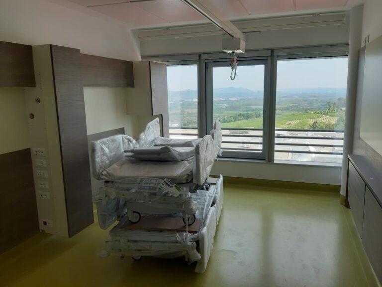Sopralluogo all'ospedale di Verduno