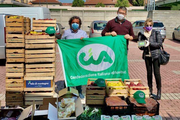 Asti, 25 aprile solidale con la colletta alimentare della Cia