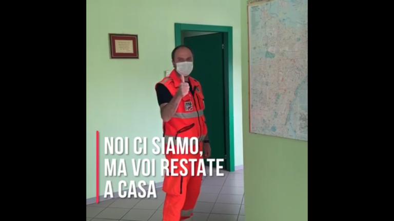 Un video della Croce Verde di Asti sull'impegno del personale durante l'emergenza epidemiologica