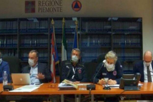 """Piemonte, Unità di Crisi: """"L'impossibile per gestire ogni aspetto legato alla pandemia"""""""