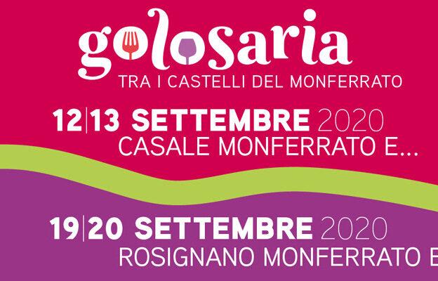 Golosaria Monferrato slitta a settembre