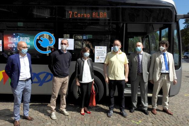 Asp presenta un nuovo bus elettrico