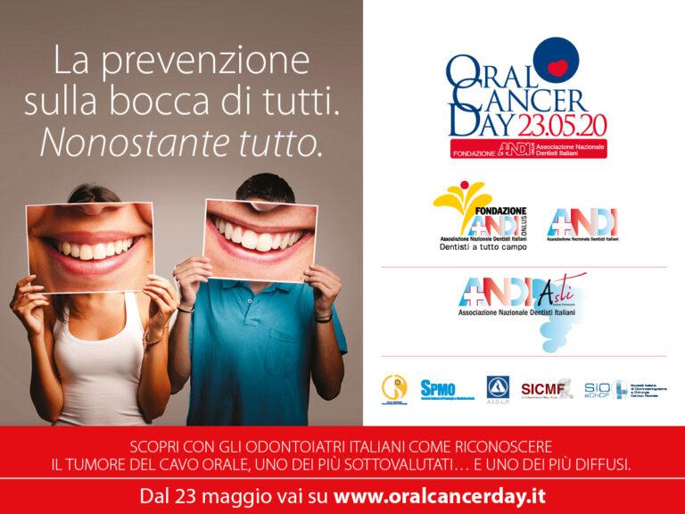 Sabato 23 maggio 2020 inizia Oral Cancer Day