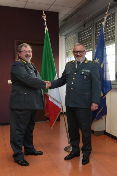 Nizza Monferrato, passaggio di consegne alla tenenza della guardia di finanza
