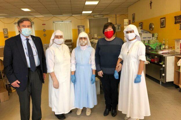 Mensa sociale di Asti: la Saclà incrementa le proprie donazioni