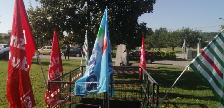 Nuovo presidio dei lavoratori della Casa di Riposo San Giuseppe di Castelnuovo Don Bosco