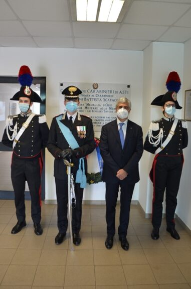 Asti, i carabinieri festeggiano il loro 206° anniversario