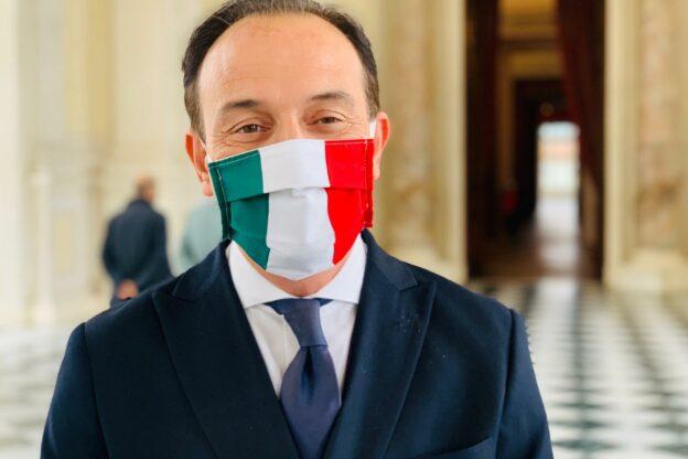 """Il presidente Cirio ad Asti: """"Da lunedì zona arancione rafforzata per il distretto sud della provincia"""""""