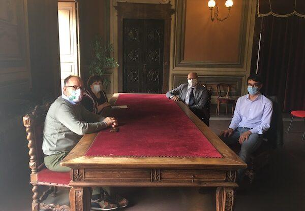 Il sindaco di Asti incontra il primario del reparto Malattie Infettive del Massaia