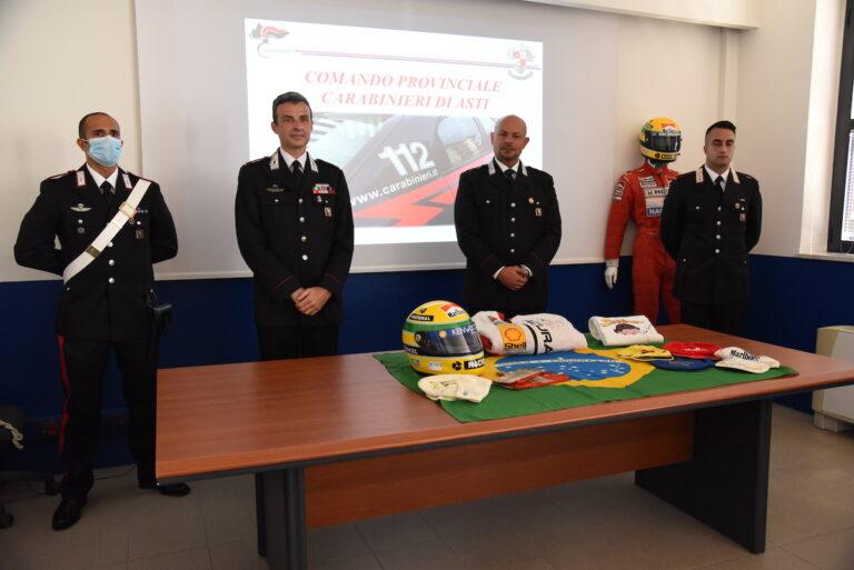 Asti, furto dei cimeli di Ayrton Senna: i carabinieri arrestano i presunti ladri