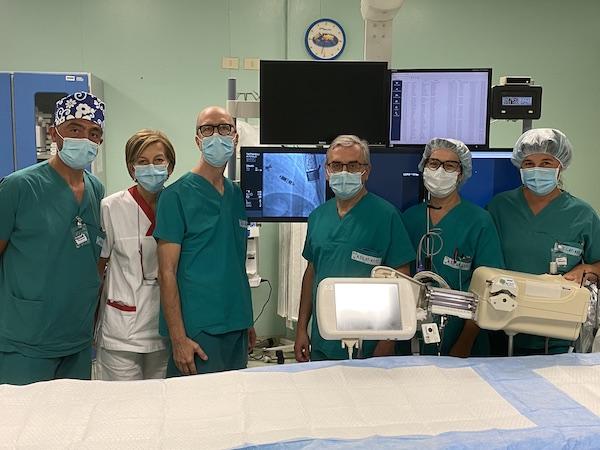 Asti, primo intervento in Piemonte del pacemaker Leadless Micra A/V