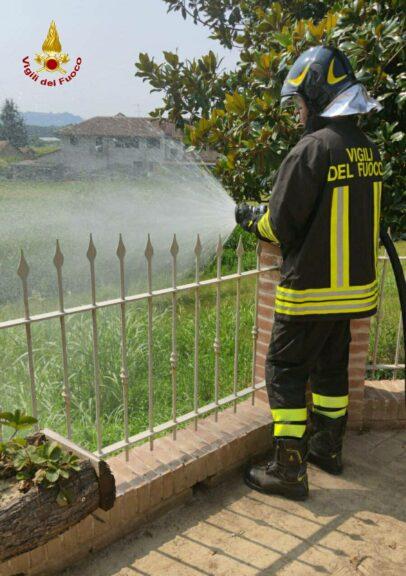 Asti, fuga di gas (con esplosione) a Variglie