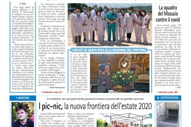 Prima pagina – 10 luglio 2020