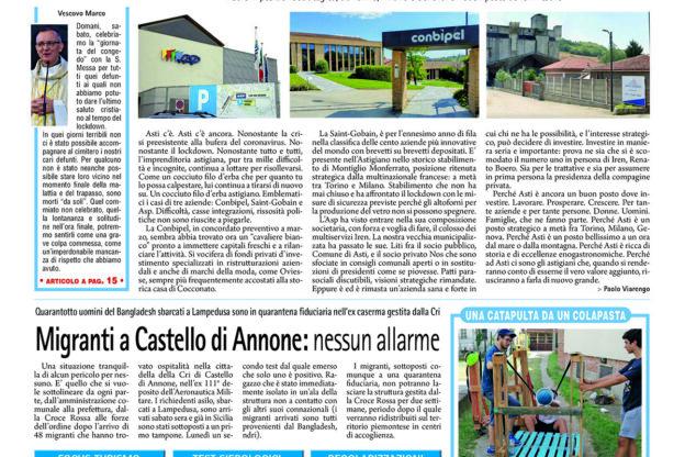 Prima pagina – 24 luglio 2020