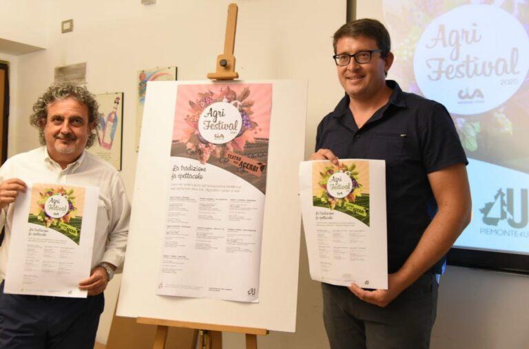 Presentato Agrifestival 2020: Teatro nel verde e piatti della cucina monferrina negli agriturismi della Cia