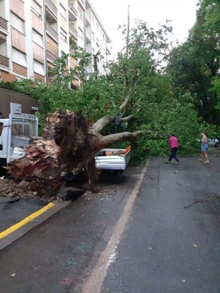 Maltempo di inizio agosto: la Regione chiede lo stato di emergenza