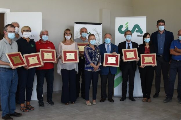 Cia Asti ha consegnato il Premio Agrestino 2020 a chi era in prima fila nell'emergenza covid