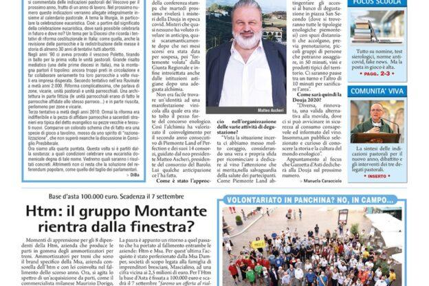 Prima pagina – 28 agosto 2020