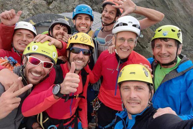 CAI Asti apre nuova via alpinistica su Punta Venezia