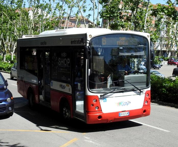 Asti, variazioni di percorso per alcune corse della linea 6 degli autobus