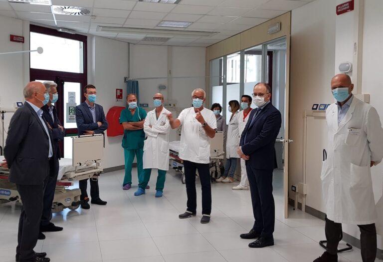 Asti, il pronto soccorso dell'ospedale Massaia ha una nuova maxi area dedicata all'emergenza