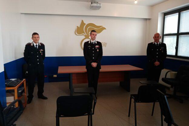 Due nuovi ufficiali al Comando Provinciale dei Carabinieri di Asti