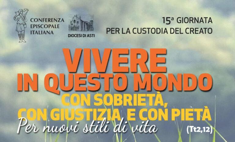 Asti, un convegno per la Giornata Nazionale per la Custodia del Creato