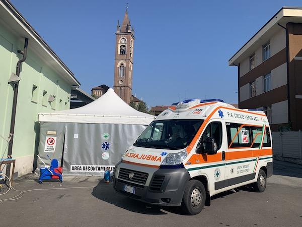 La Croce Verde di Asti rinvia i ringraziamenti per l'impegno durante l'emergenza Covid-19