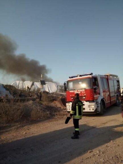 Incendio nella discarica di Cerro Tanaro