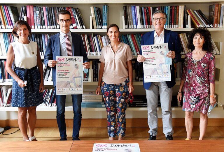 Tre nuovi partner per il progetto contro la violenza Sos Donna