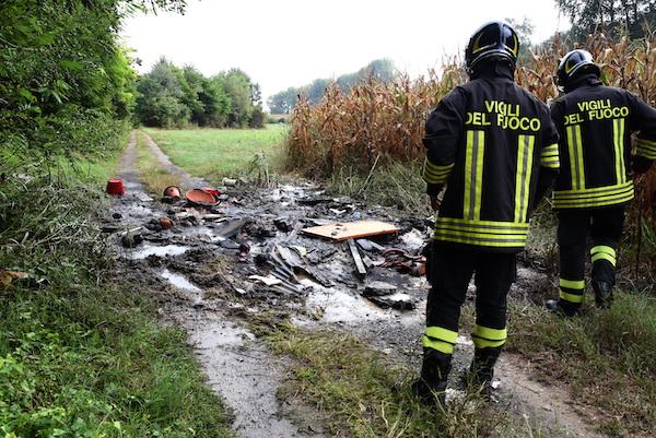 Incendio alla Boana: la fotogallery